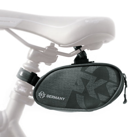 SKS - Bicycle Bag - Traveller Click 800 - Saddlebag with Click System and Side Zipper - 800ml Capacity - ZEITBIKE