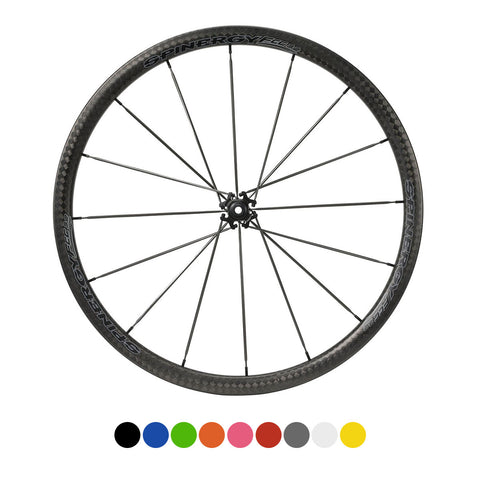 SPINERGY Stealth FCC 3.2 700c Front Wheel for Road Bikes - ZEITBIKE
