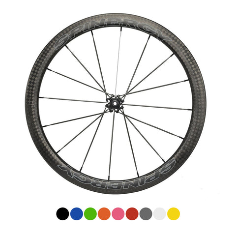 SPINERGY Stealth FCC 4.7 700c Front Wheel for Road Bikes - ZEITBIKE