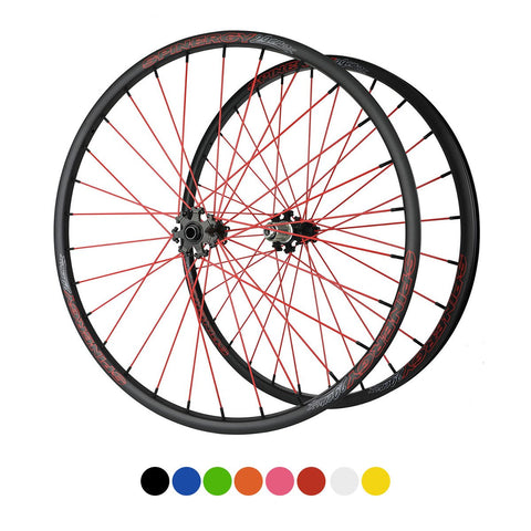 "SPINERGY LX 29"" Disc Front (12 MM/15MM Thru Axle) & Rear Wheel Set for MTB"