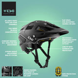 TSG - Helmet - Scope MIPS Solid Color - Satin Black - ZEITBIKE