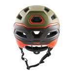 TSG - Helmet - Scope Graphic Design - Army Moss-Orange - ZEITBIKE