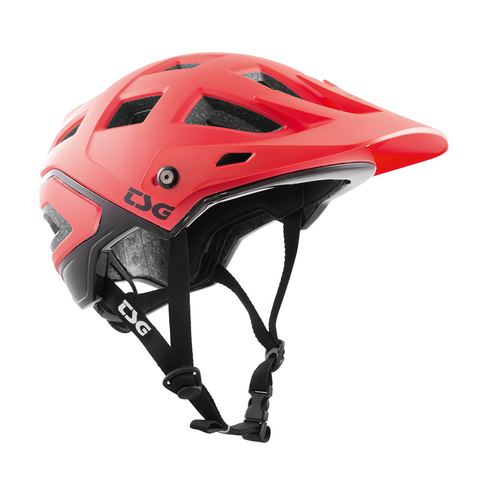 TSG - Helmet - Scope Graphic Design - Red-Black - ZEITBIKE