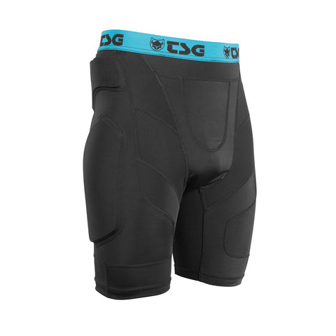 TSG - Protective Shorts - Crash Pant A - Black - ZEITBIKE