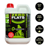 ZeroFlats Anti-puncture Sealant (2000 ml) - ZEITBIKE