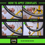 ZeroFlats Anti-puncture Sealant (500 ml) - ZEITBIKE