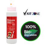 Green Oil - Chain Lube - Spray Bottle - Wet & Dry Conditions - 100ml - ZEITBIKE