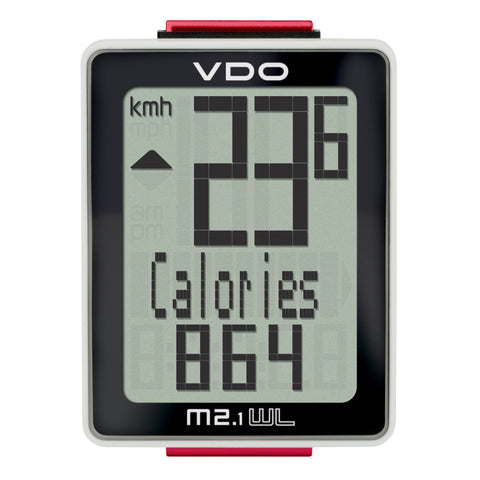 VDO Bicycle Computer M2.1 (Wireless) - ZEITBIKE