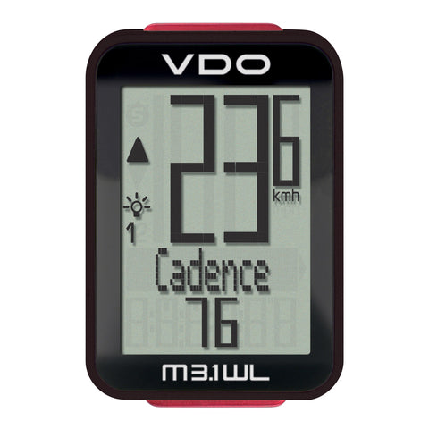 VDO Bicycle Computer M3.1 (Wireless) - ZEITBIKE