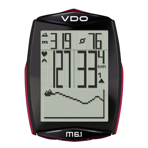 VDO Bicycle Computer M6.1 (Digital Wireless) - ZEITBIKE