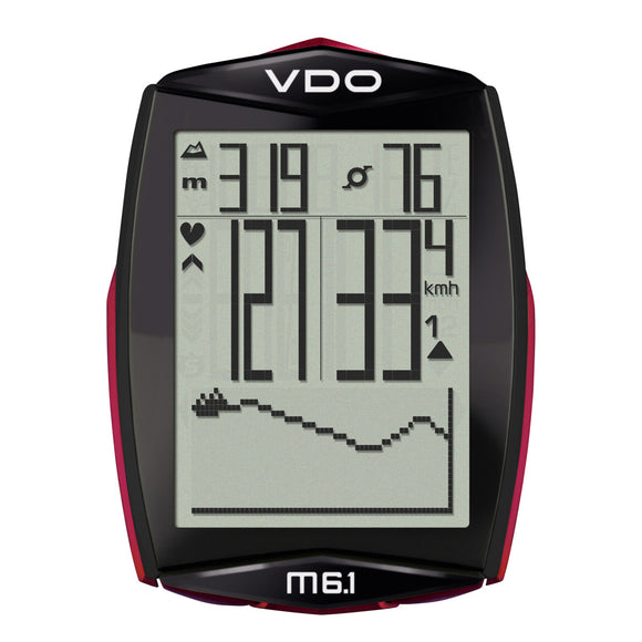 VDO Bicycle Computer M6.1 (Digital Wireless)