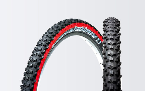 PANARACER - FireXcPro Tubeless 26 x 2.10 Aramid MTB Bicycle Tire Black - ZEITBIKE