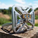 Fly Pedals Version II - Silver and New Colors - ZEITBIKE