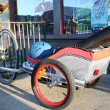 FREETOWN - Kickdrum Cargo Trailer - Red/Grey - ZEITBIKE
