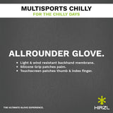 HIRZL - Multisports Chilly - Outdoor and Bike Gloves - ZEITBIKE