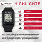 SIGMA Sports Watch - iD.GO - ZEITBIKE