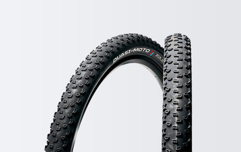 PANARACER - Quasi-Moto 27.5 x 2.00 (650B) Aramid MTB Bicycle Tire Black - ZEITBIKE