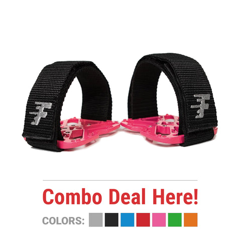 Fly Pedals II - Combo Deal - Adapter + Straps in One - ZEITBIKE