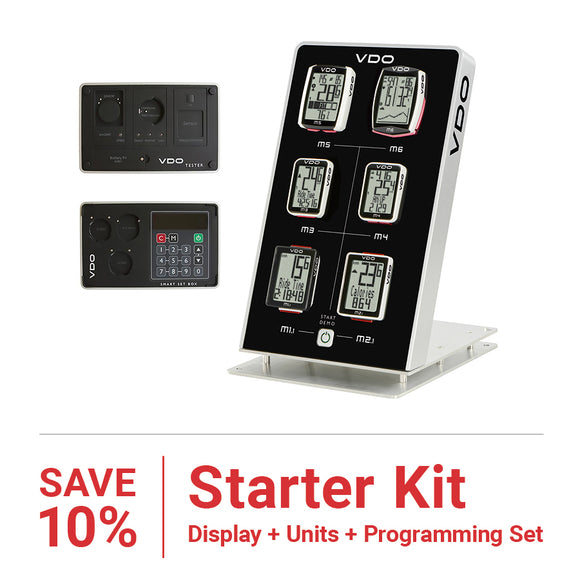 VDO - Starter Kit with Display - SAVE 10% - ZEITBIKE