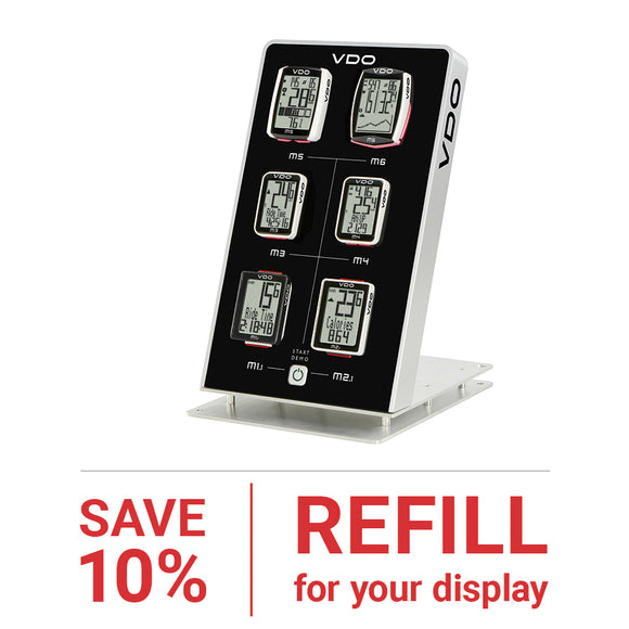 VDO - Refill Pack For Display - SAVE 10% - ZEITBIKE