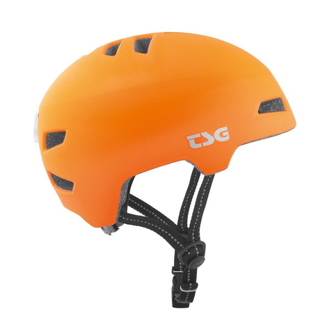 TSG - Helmet - Status Solid Color - Flat Orange - ZEITBIKE