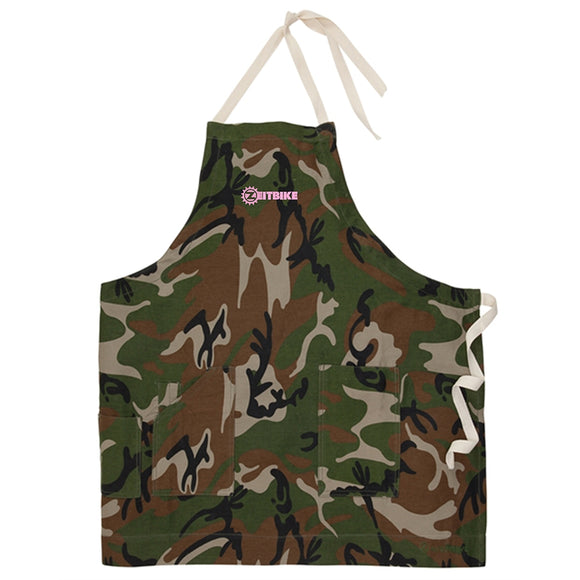 ZEITBIKE - Bicycle Mechanic Apron - Camouflage
