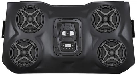 Polaris RZR 15+  Bluetooth  IPOD 4 Speaker Overhead Waterproof Audio System