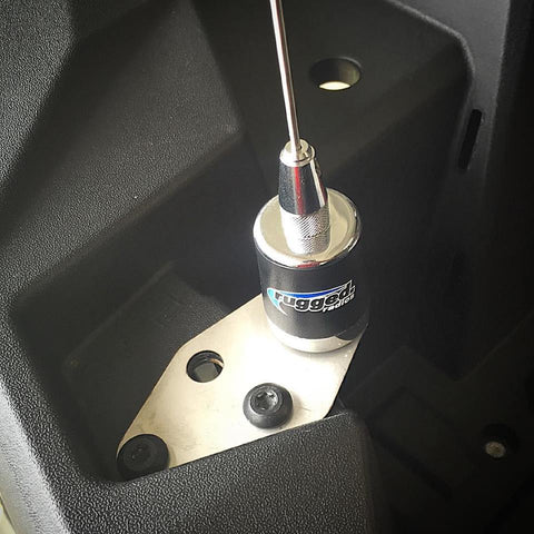 RZR RADIO ANTENNA MOUNT
