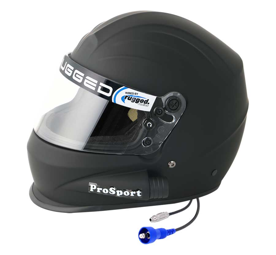 Pyrotect 'Pro Sport' Side Air Helmet - Flat Black