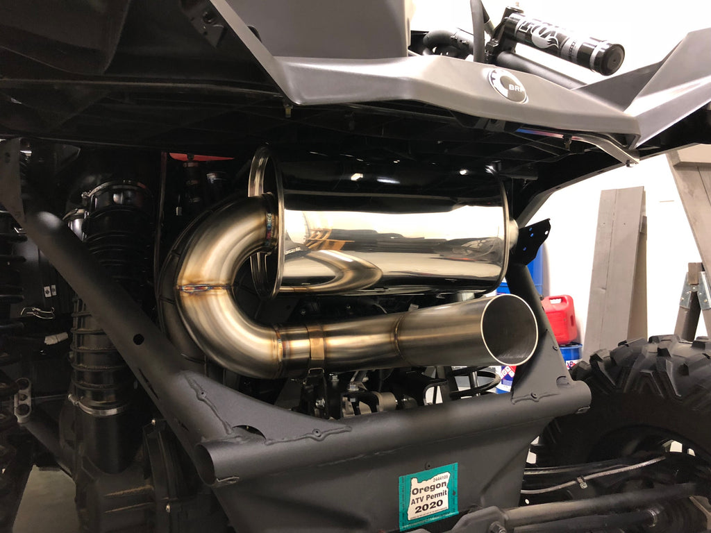 "Treal Performance  ""Quiet Trail"" 2017-19 Can-Am Maverick X3 Exhaust System"