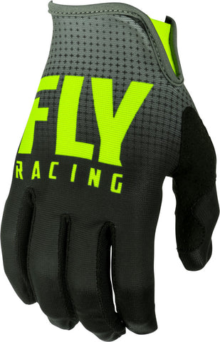 Fly Racing Black/Hi-Vis Lite Gloves
