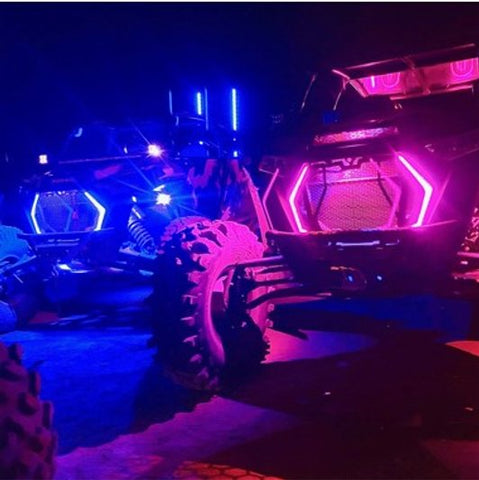 Custom UTV RGB+White Full Accent Kit