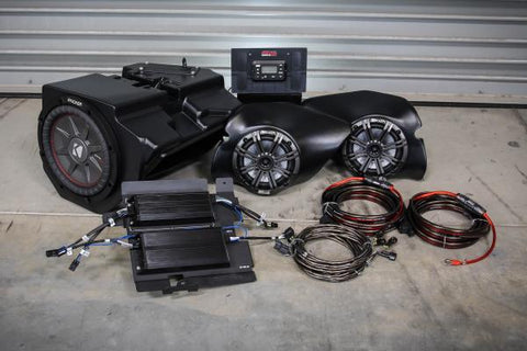 POLARIS RZR XP 1000 COMPLETE KICKER 3 SPEAKER PLUG-AND-PLAY SYSTEM