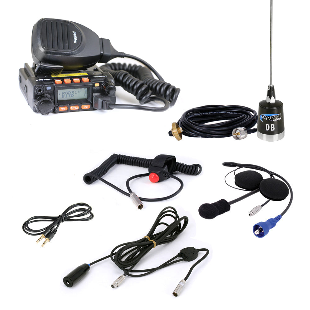 Rugged Single Seat Kit with 25-Watt Radio