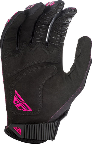Fly Racing Neon Pink/Black Kinetic Noiz Gloves