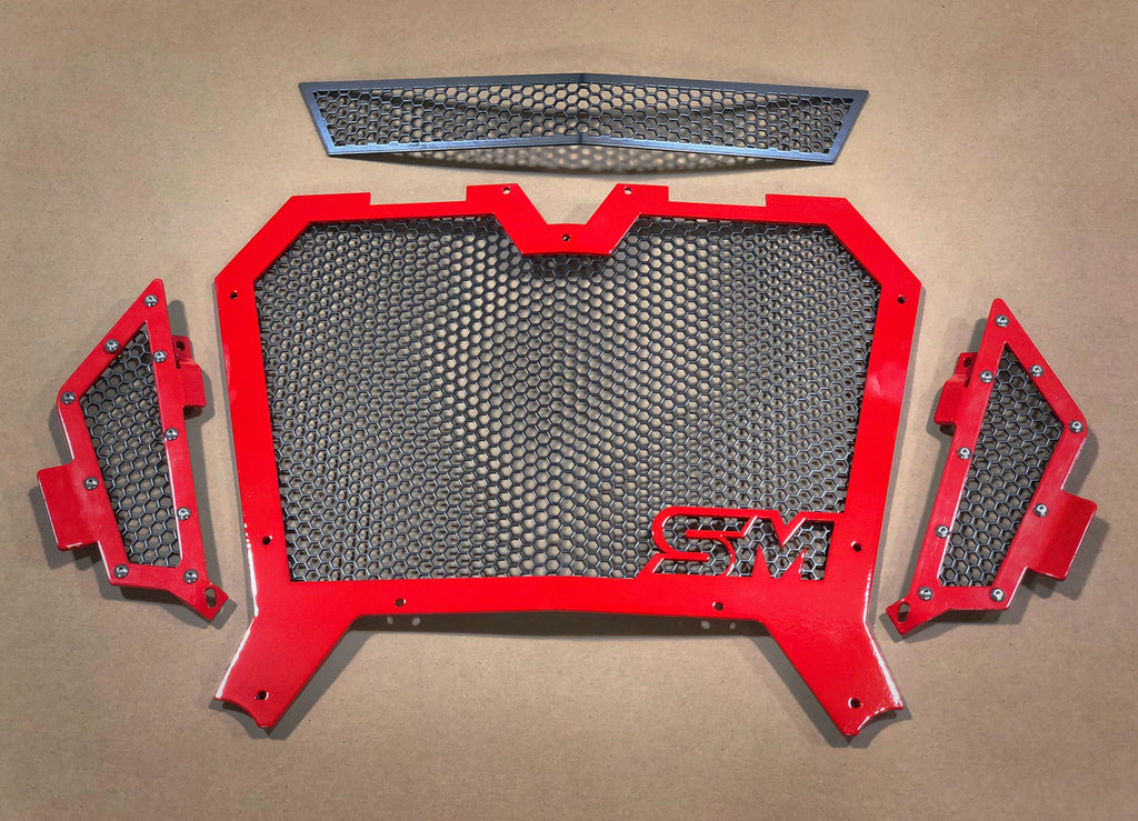 Superior Motorsports 2018-2020 Turbo/S Polaris RZR Grill Kit