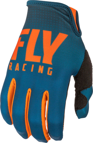 FLY RACING LITE GLOVES ORANGE/NAVY