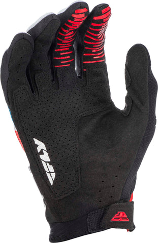 FLY RACING EVOLUTION DST GLOVES RED/BLUE/BLACK