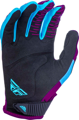 FLY RACING KINETIC SHIELD GLOVES PORT/BLUE