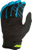 FLY RACING F-16 GLOVES BLUE/BLACK HI-VIS