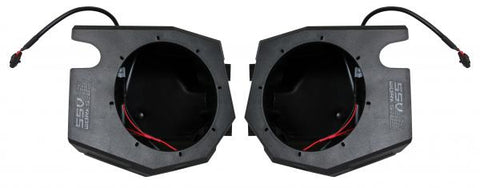 POLARIS RZR TURBO S KICKER 5 SPEAKER PLUG-AND-PLAY KIT FOR POLARIS