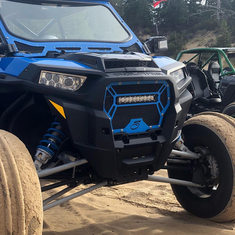 Superior Motorsports Polaris Lightbar Turbo RZR Grill