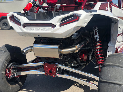 Treal Performance Polaris RZR Full Stainless Exhaust System