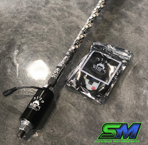 5150 Whip with Wireless Remote & Magnetic Base