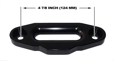 "Aluminum Hawse Fairlead 4 7/8"" (124MM) Mount"