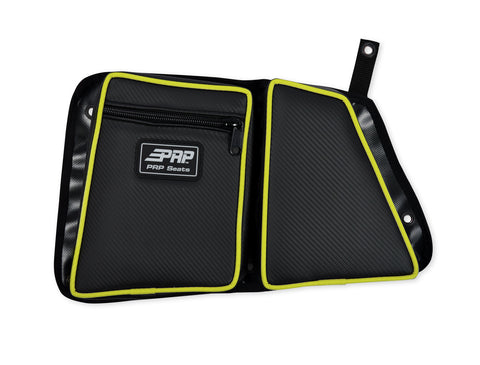RZR Stock Rear Door Bag with Knee Pad