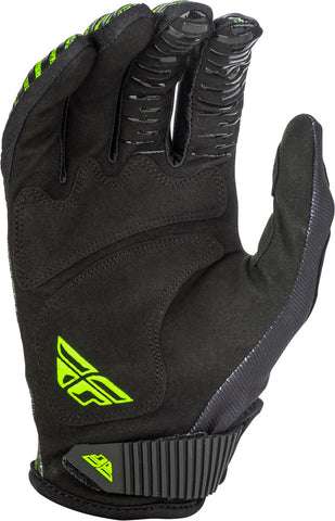 Fly Racing Black/Hi-Vis Kinetic Noiz Gloves