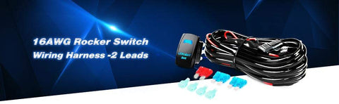 16AWG Leads LED Two Pod Wiring Harness Kit