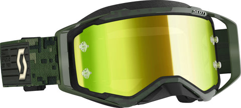 Scott Military 2020 Prospect Goggles w/Yellow Chrome Lens