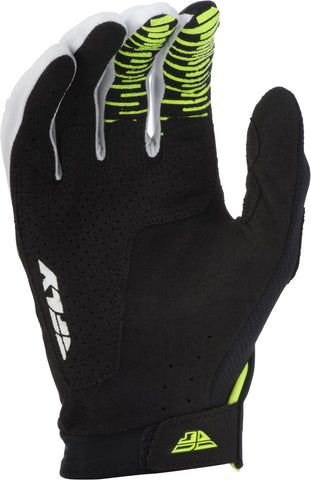 Fly Racing Hi-Vis/Black/White Evolution DST Gloves